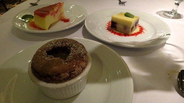 Romeo and Juliet Restaurant Night 2 - Trio Of Desserts