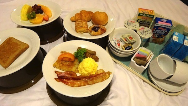 Room Service Breakfast In Bed Royal Caribbean