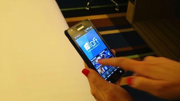 Aloft Bangkok Sukhumvit Touch Room Android Phone