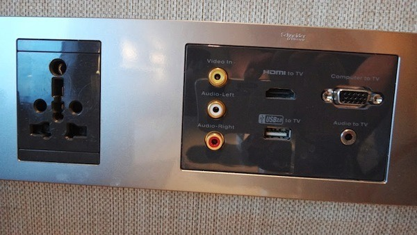 Amari Watergate Entertainment System In The Room