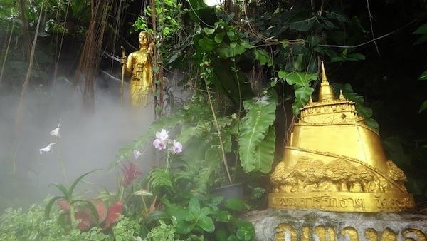 Beautiful Wat Saket In Bangkok