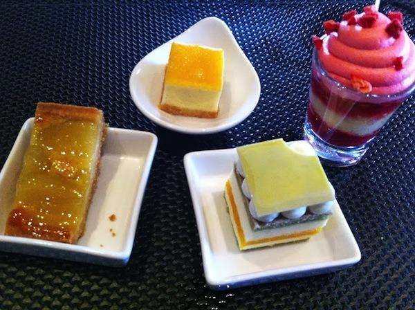 Desserts At Lebua Hotel, Bangkok