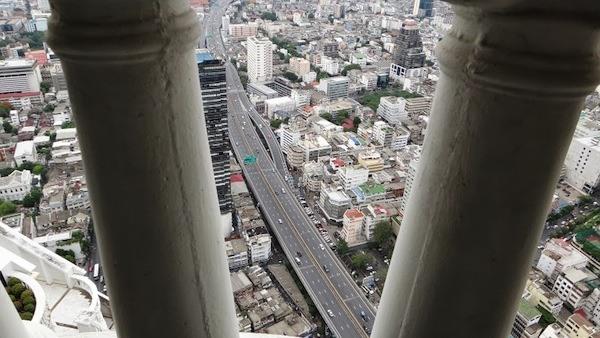 Looking Down At Bangkok From Lebua Hotel