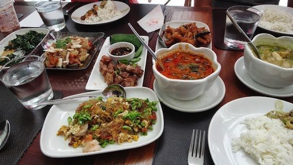 Lunch At Taling Pling At Central World Bangkok