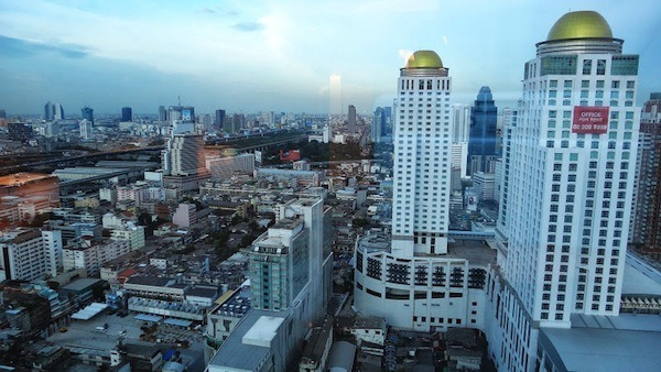 Our View Of Bangkok From Our Room At The Amari Watergate