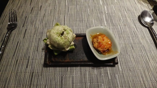 Thai on 4 - Special Thai Fish Cake - Amari Watergate Bangkok.JPG
