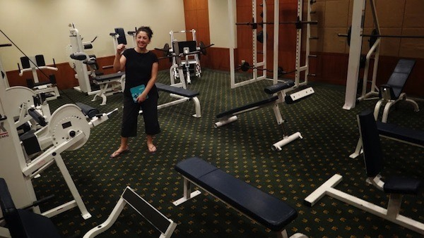 The Awesome Gym Area At The Amari Watergate In Bangkok