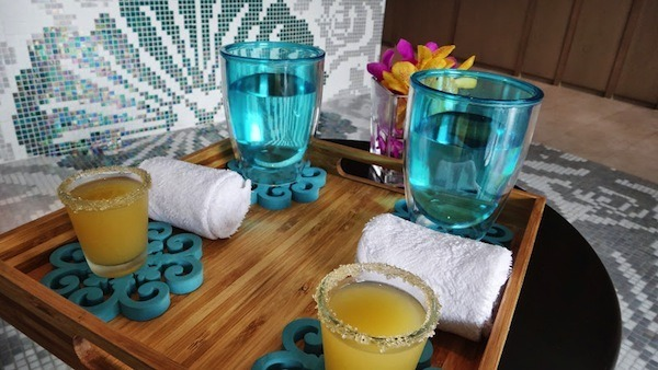 Welcome Drink At Breeze Day Spa At The Amari Watergate In Bangkok
