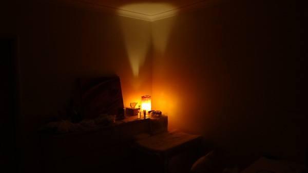 Best Ugly Orange Lamp Ever!