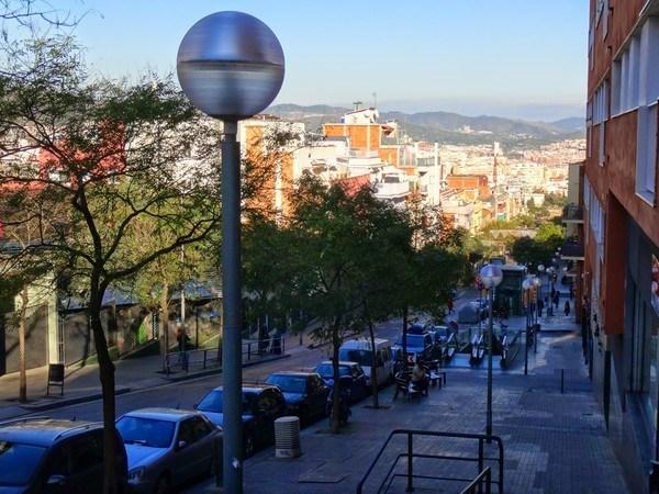 Horta steep street