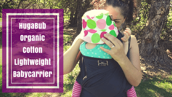 HugaBub Organic Cotton Lightweight Baby Carrier Feature