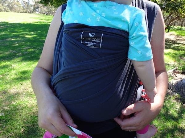 HugaBub Organic Cotton Lightweight Baby Carrier - Just Like Wearing A T-Shirt