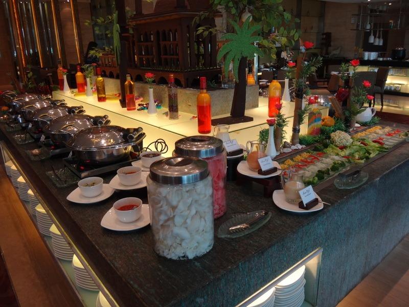 buffet at Grand Swiss-Belhotel Medan