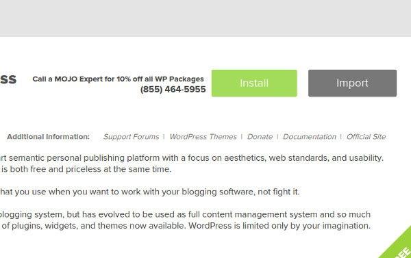 create a travel blog 6 install wordpress