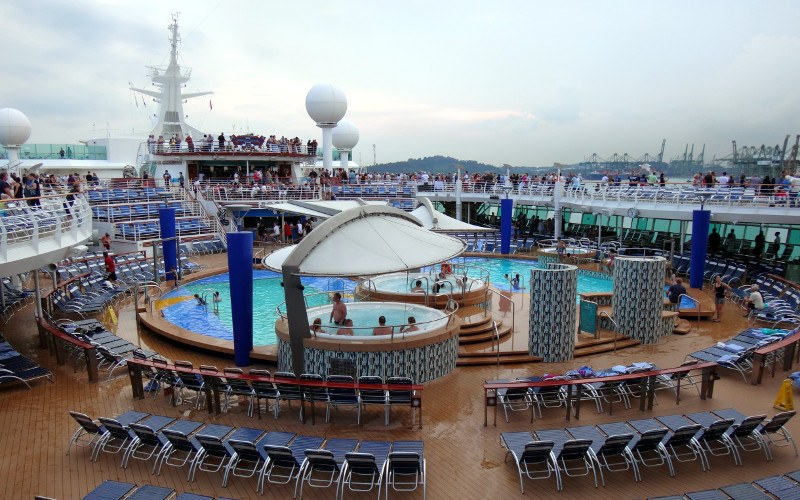 Swimming Pools on Exploror of the Seas Royal Caribbean