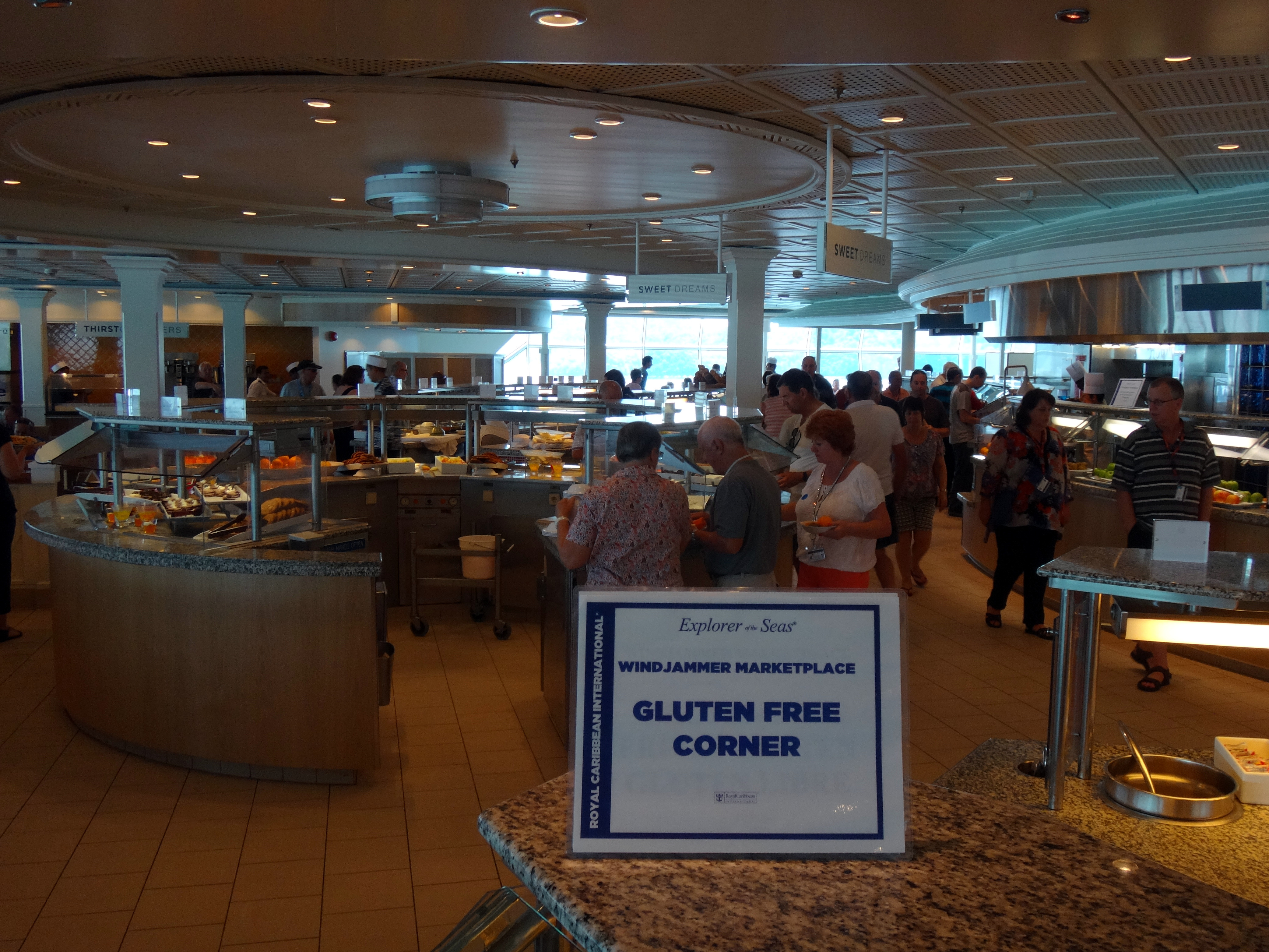 gluten free Explorer of the Seas Royal Caribbean
