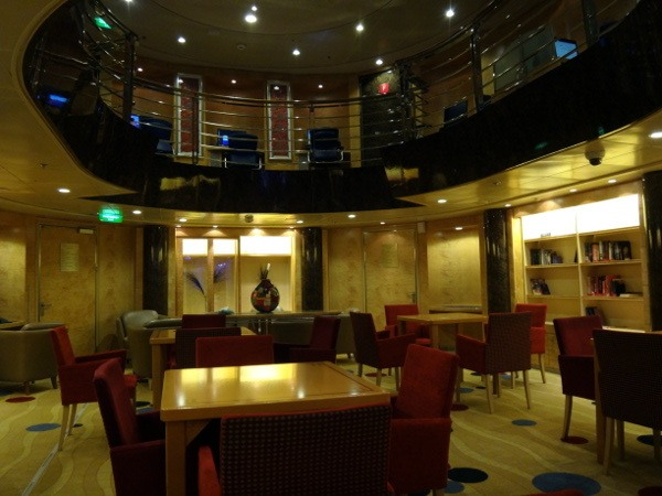 In the library on Explorer Of The Seas
