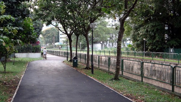 singapore walking cycling path