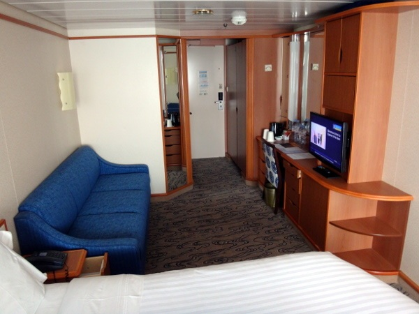 our room on Explorer of the Seas
