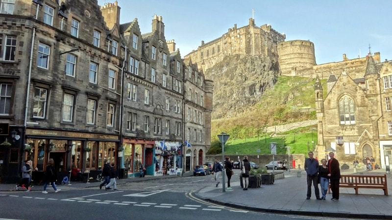 Recreating a Photograph In Edinburgh