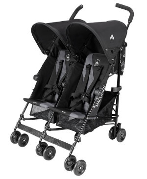 maclaren twin triumph stroller review