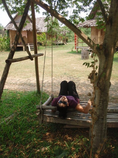 swing in pai thailand